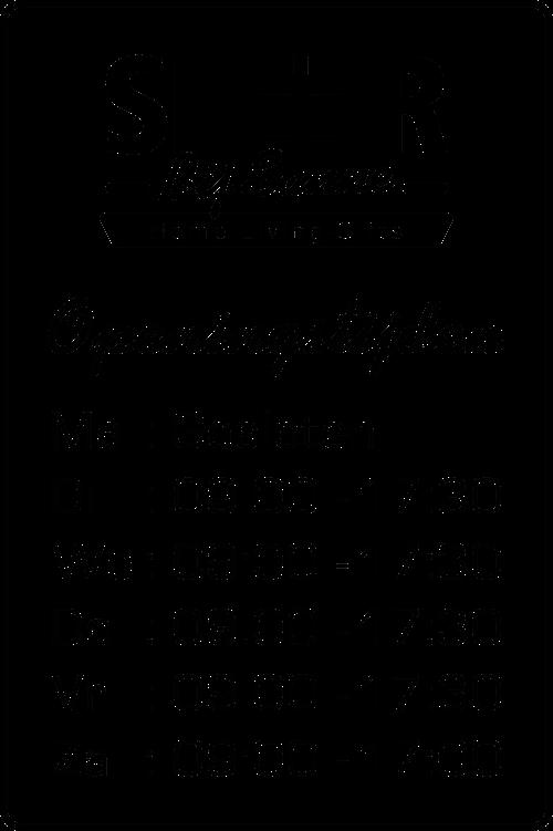 Openingstijden Sfeer bij Sanne